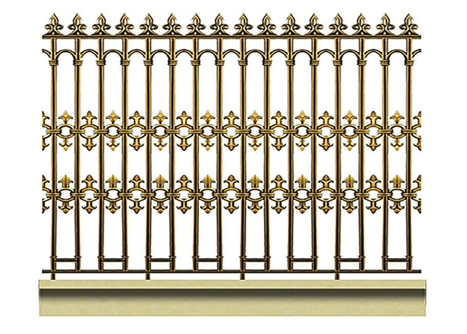 Hàng rào nhôm đúc HRD11